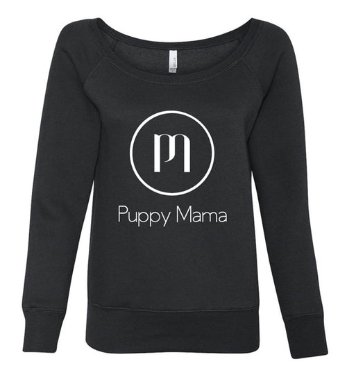 Puppy Mama Stylish Sweatshirt - Black (Wholesale Order)