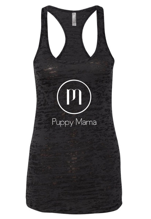 Puppy Mama Black Tank Top - As Seen in VOGUE & GQ Magazines! (Wholesale Order)
