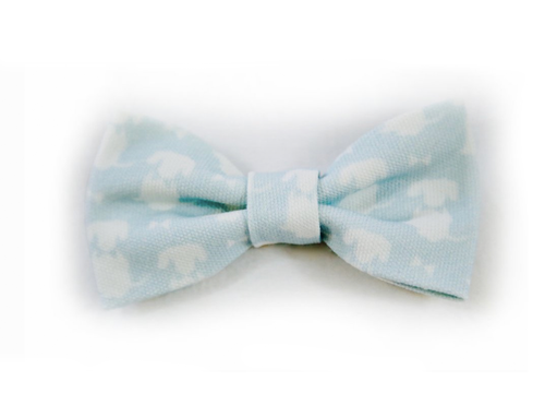Duck Egg Dog Bow Tie