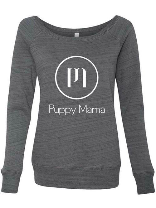 Puppy Mama Stylish Sweatshirt - Marble Grey (Wholesale Order)