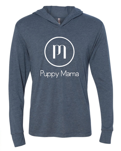Puppy Mama Hoody - Indigo (Wholesale Only)
