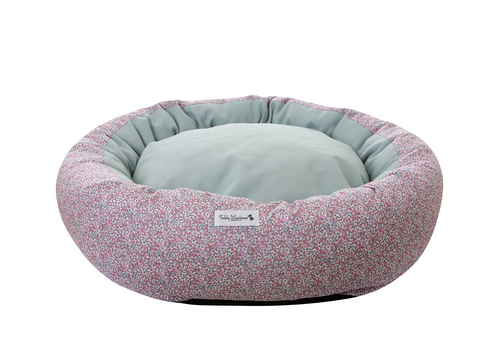 Pink Liberty Print Cocoon Puppy Bed