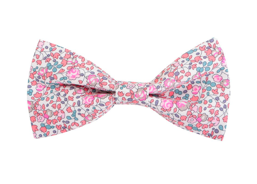 Rose Pink Liberty Print Dog Bow (for the lady pups)