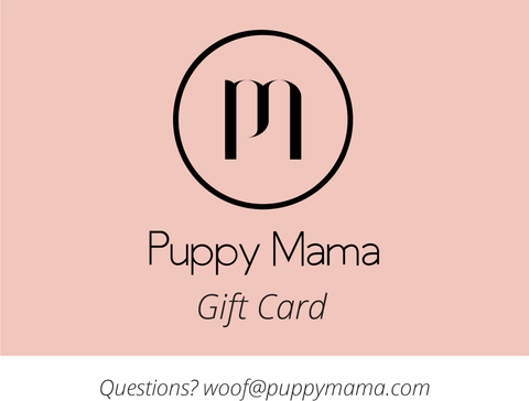 Puppy Mama Stylish Sweatshirt - Marble Grey Scoop Neck