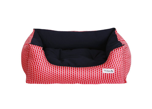 NEW Red Liberty Print Slumber Dog Bed