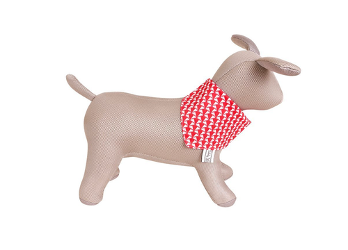 Holiday Red Dog Scarf - the perfect Holiday Gift!