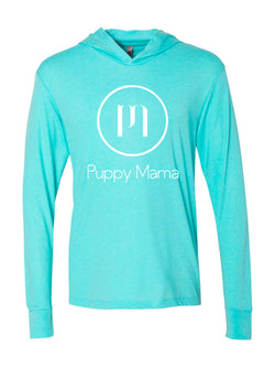 Puppy Mama Hoody - Tahiti Blue (Wholesale Only)