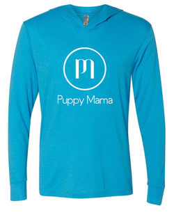Puppy Mama Hoody - Vintage Turquoise (Wholesale Only)