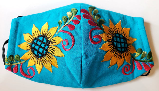 Summer flowers (Turquoise)