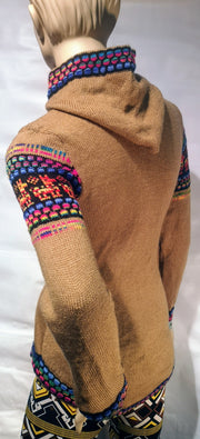 Alpaca  woman sweater 0098
