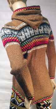 Alpaca  woman sweater 00289