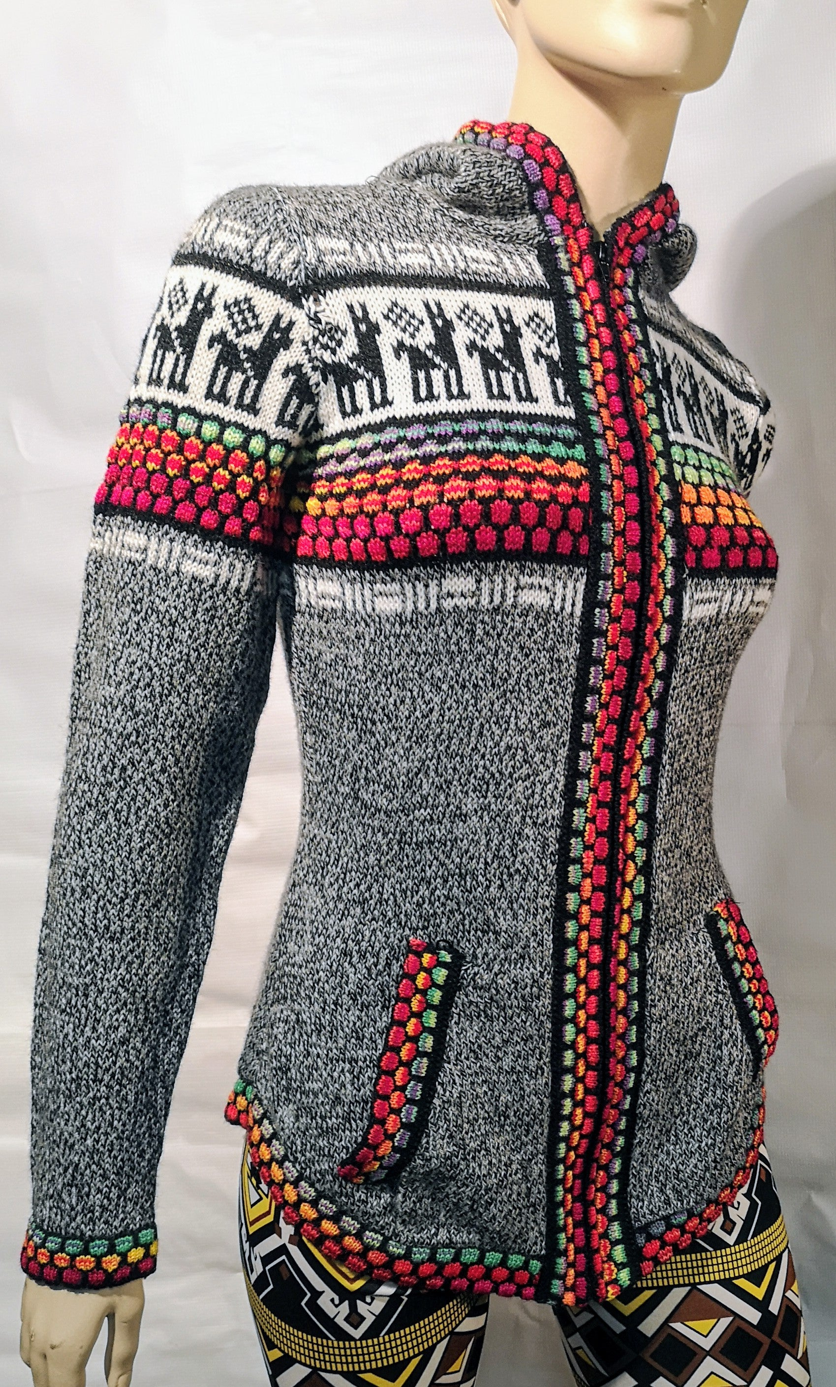 Alpaca  woman sweater 00291