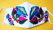 Custom Made Embroidered Face Masks #4443