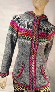 Alpaca  woman sweater 0092