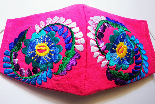 Custom Made Embroidered Face Masks 1003