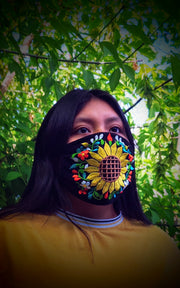 Custom Made Embroidered Face Masks #00001