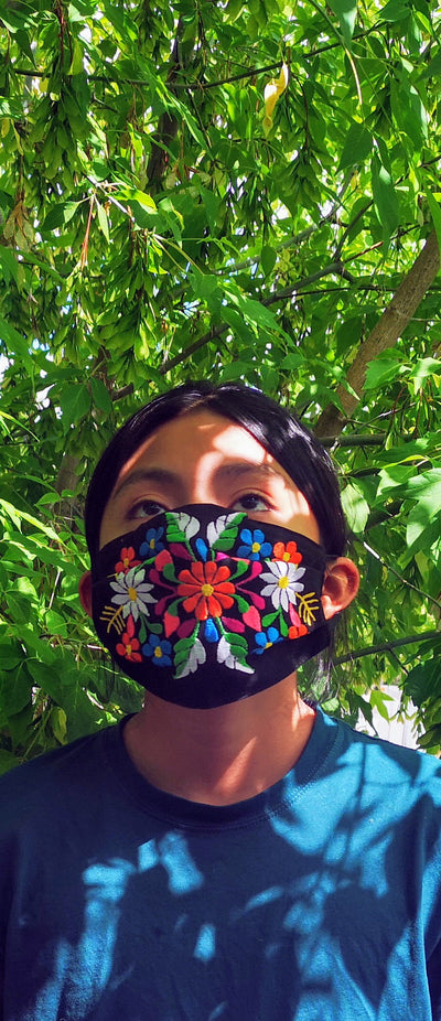 Custom Made Embroidered Face Masks. #000083
