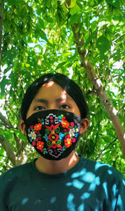 Custom Made Embroidered Face Masks 7