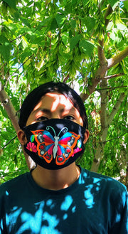 Custom Made Embroidered Face Masks #00003