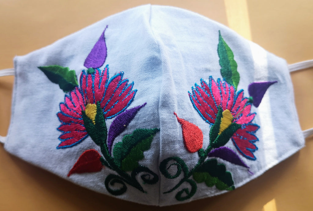 Custom Made Embroidered Face Masks #10020