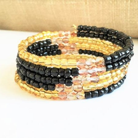 Black and Gold Glam Wrap