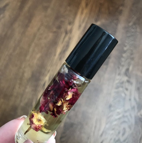 Herbal Infused Oils Blends