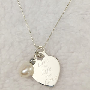 Live the Life Necklace