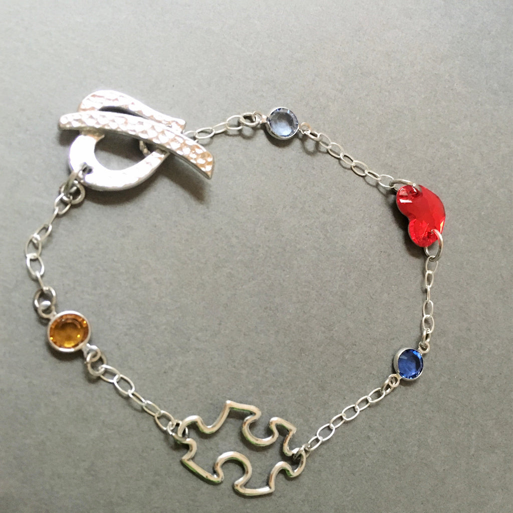 Full of Love Autism Awareness Bracelet