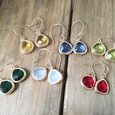 Artisan Crystal Earrings For Women As Seen in Pre Oscars Swag Bag