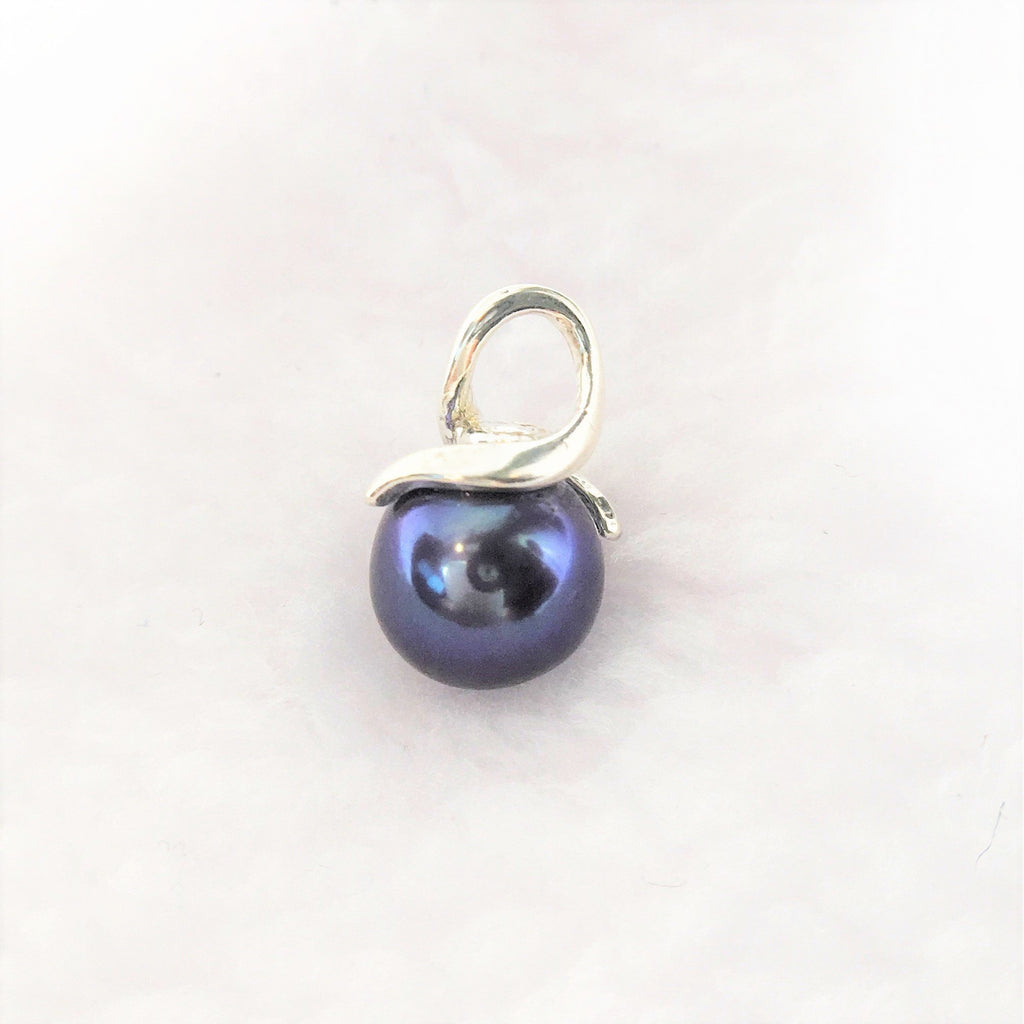 Purple Cultured Freshwater Pearl Pendant