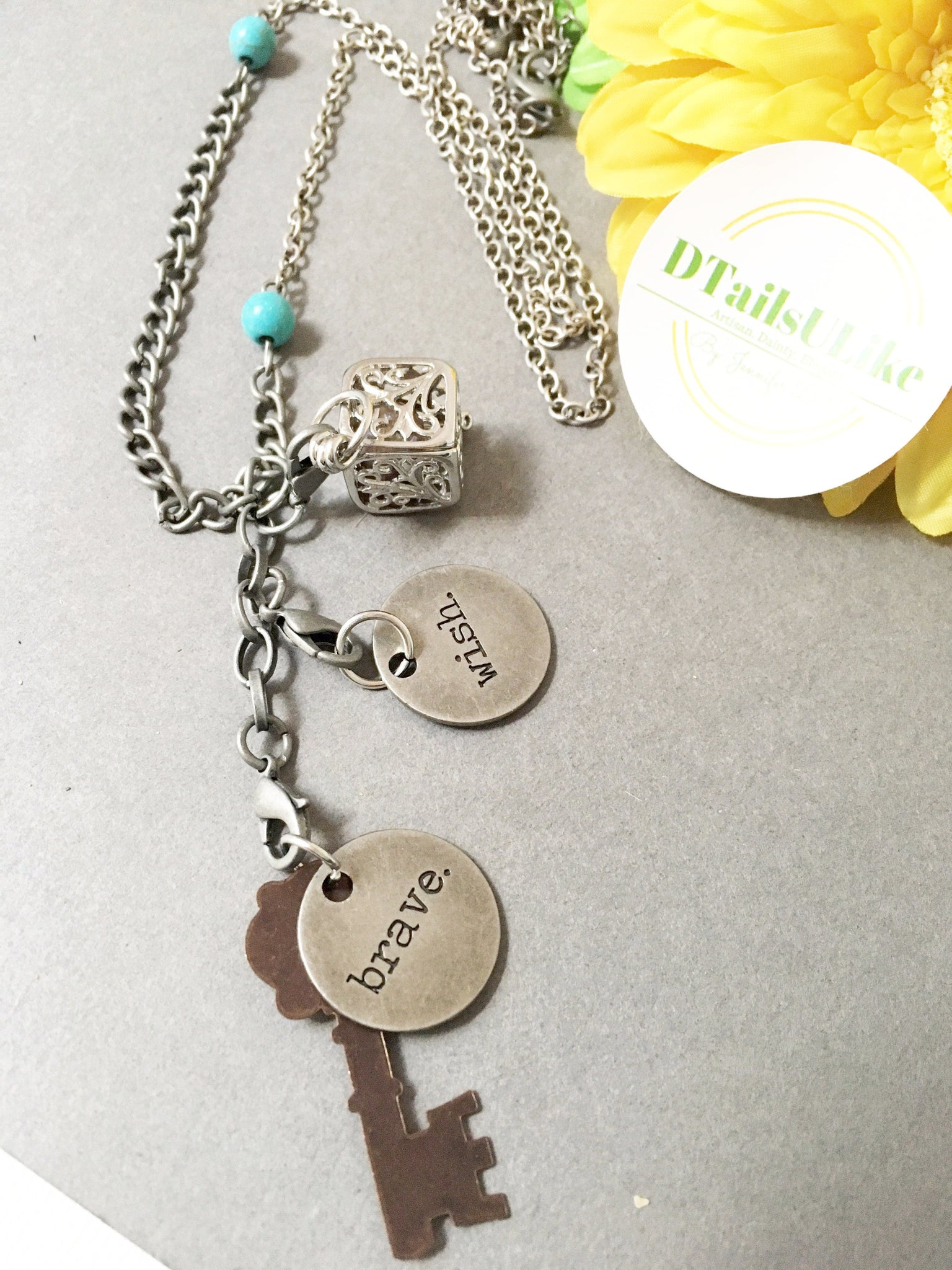 Motivational Charms Necklace