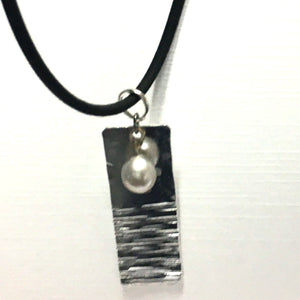 Industrial Rubber Necklace