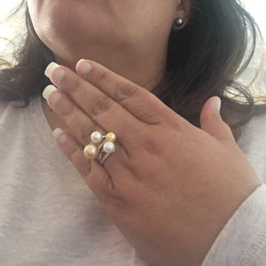 Pearl lover dream ring