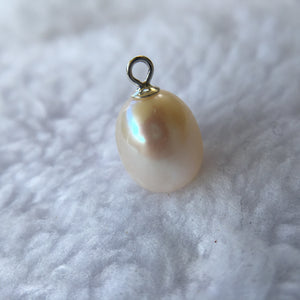 White Freshwater Pearl Pendant