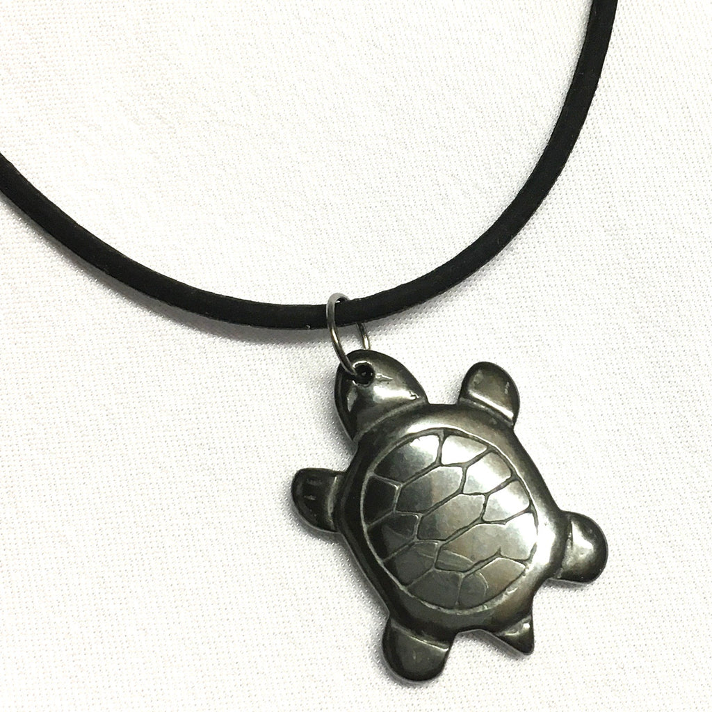Turtle Rubber Necklace