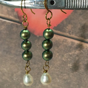 Wicked Pearl Earring Dangles