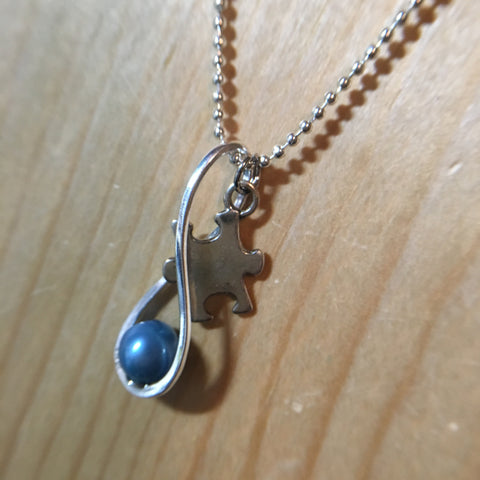 Autism infinitely love Necklace