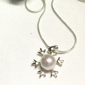 Snowflake Pendant Necklace