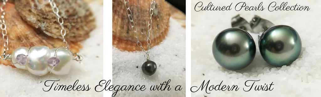 Cultured Freshwater Tahitian Pearls