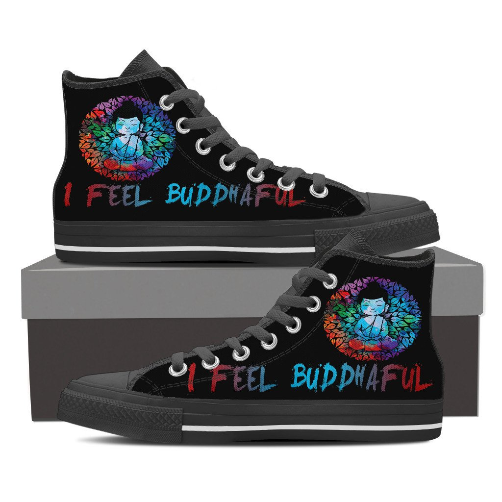 I Feel Buddhaful Monk High Top - Lyghtt