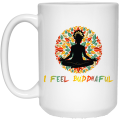 Limited Edition I Feel Buddhaful Girl Drinkware