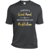 Image of Today's Good Mood Is Sponsored By Meditation Men Apparel - Lyghtt