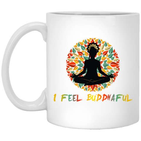 Limited Edition I Feel Buddhaful Girl Drinkware - Lyghtt