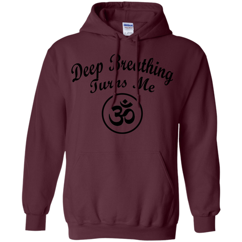Deep Breathing Turns Me OM Shirts, Tank & Hoodie - Lyghtt