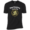Image of Deep Breathing Turns Me Om Gold Apparel MEN - Lyghtt