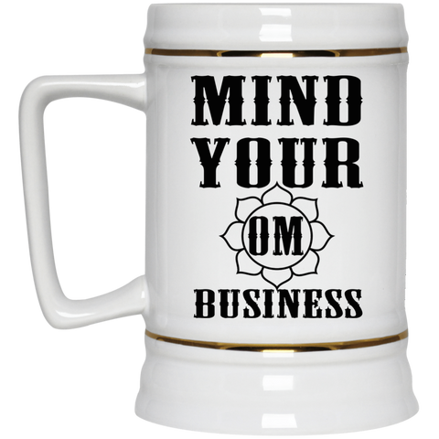 Mind Your Om Business Mugs & Drinkware - Lyghtt