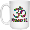 Image of Rainbow Namaste Mugs & Drinkware - Lyghtt