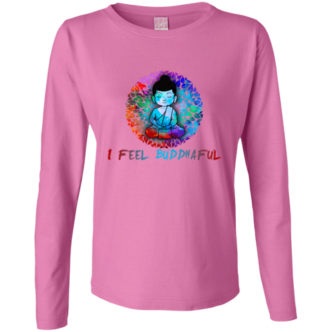 Limited Edition I Feel buddhaful Monk Apparel LADIES - Lyghtt