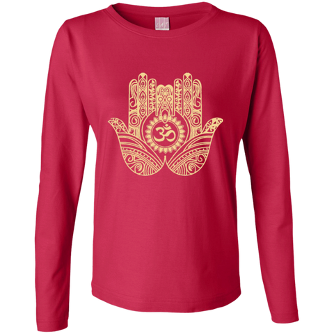Golden Double Hamsa Hand Apparel LADIES - Lyghtt