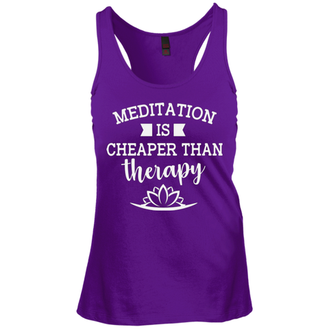 Meditation Is Cheaper Than Therapy Women Apparel - Lyghtt